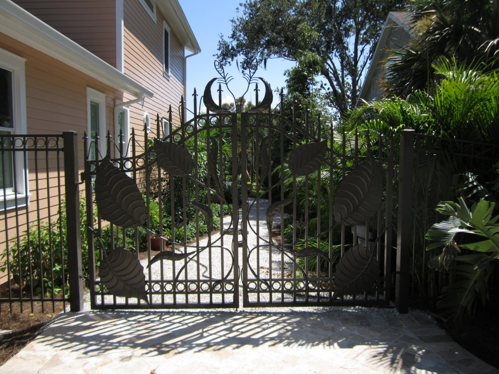 custom fabricated gate