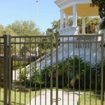security enclosure fence